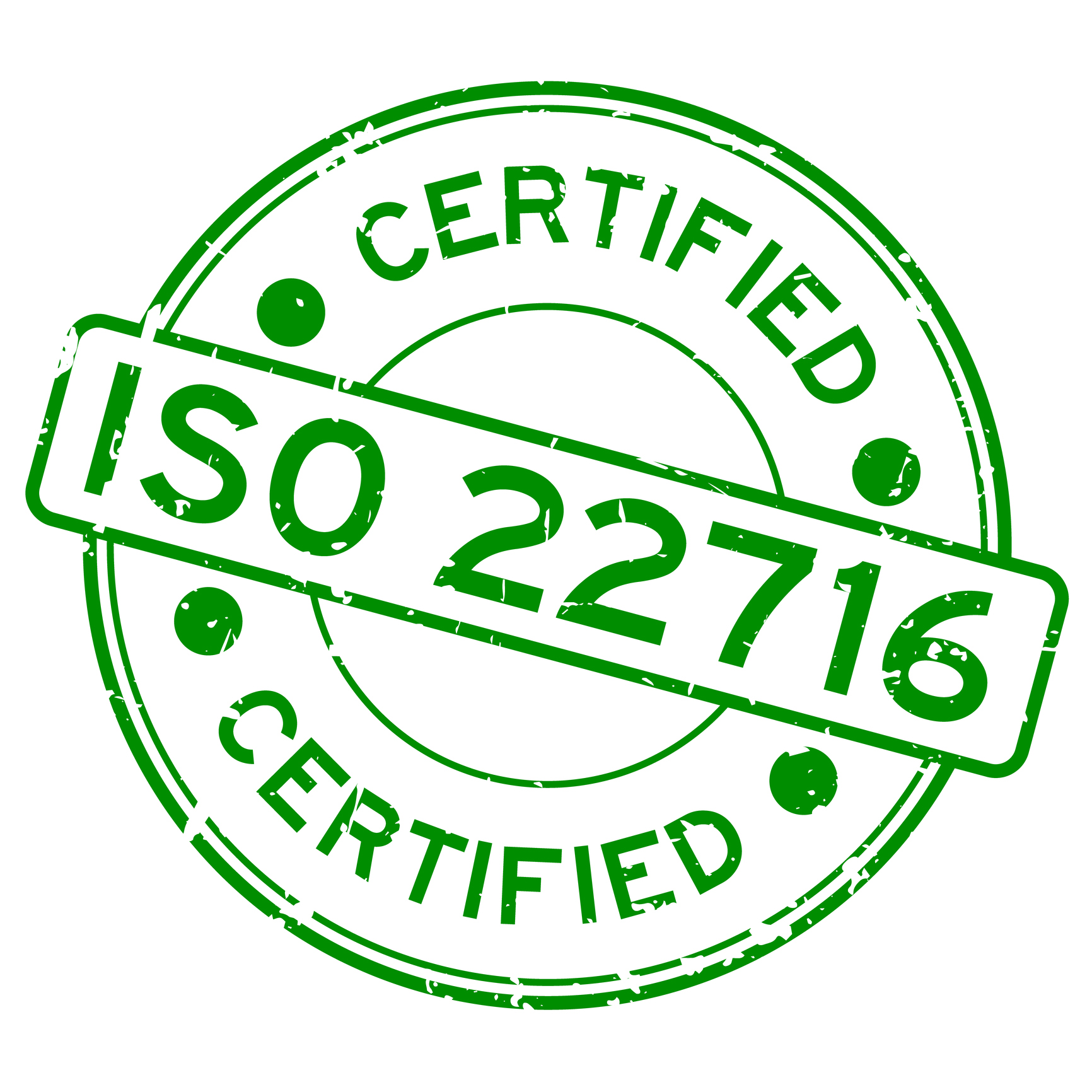 ISO 22716 - GMP guidelines in cosmetics